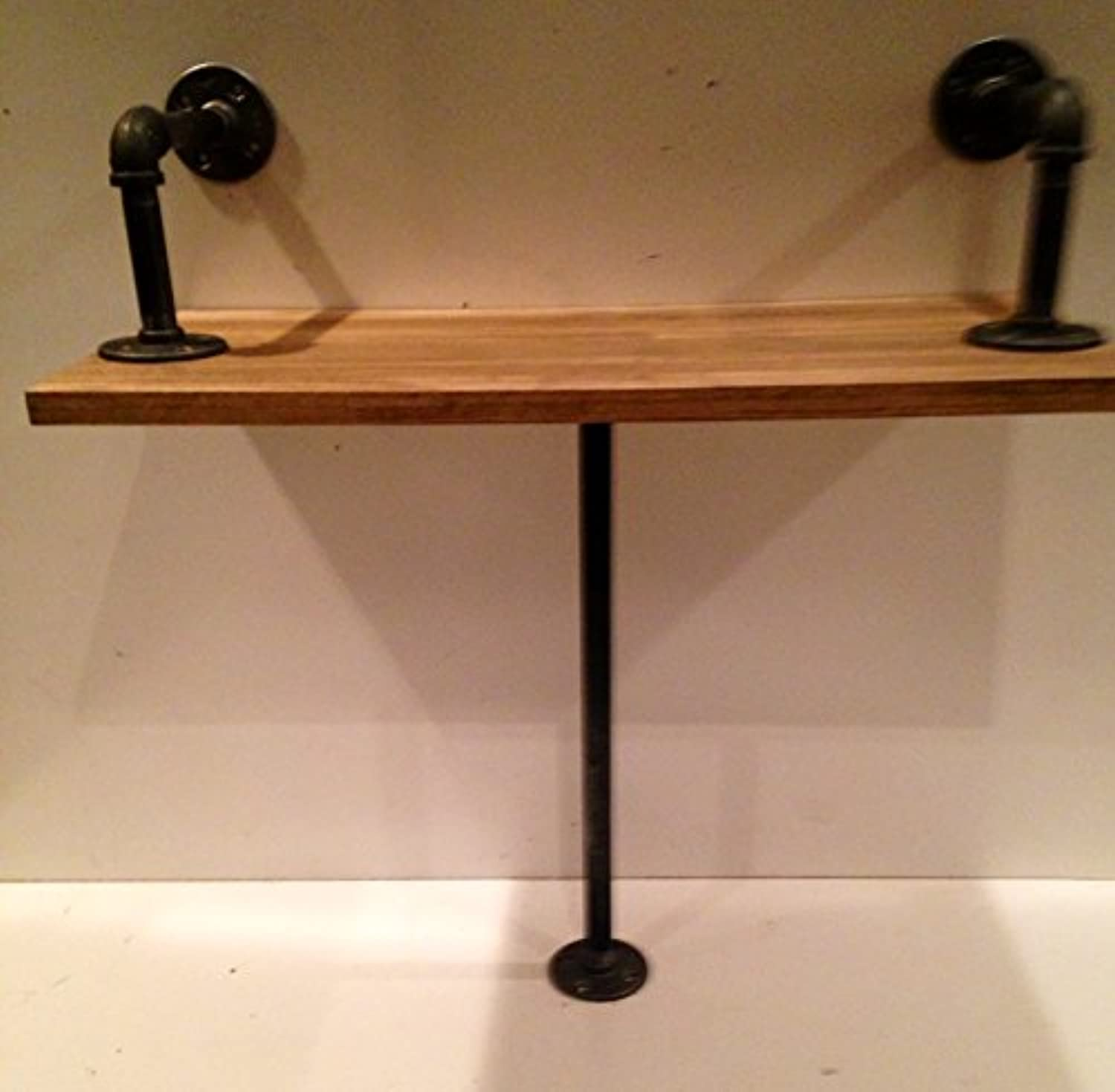 Industrial Bench made with poplar wood (pick your own stain)