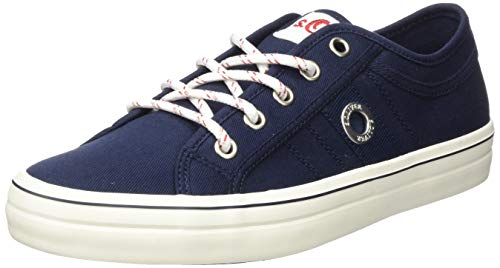 s.Oliver Damen 5-5-23644-24 Sneaker, Blau (Navy 805), 38