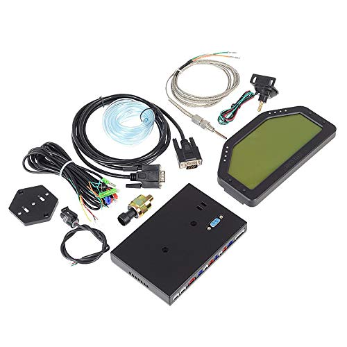 DO908 Dash Race Display Sensor KIT,Dashboard LCD Screen;Gauge Meter,Wire Harness