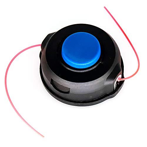 Cabezal recortador para grifo Husqvarna T25 128LD 128LDX con hilo de desbrozadora y cortador de cepillo