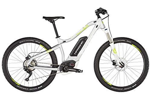 HAIBIKE Sduro HardSeven Life 4.0 27.5'' Damen Pedelec E-Bike MTB grau/gelb 2019: Größe: XL