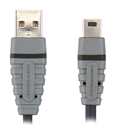 Bandridge - Cable USB Mini 5-Pins 1.0 M