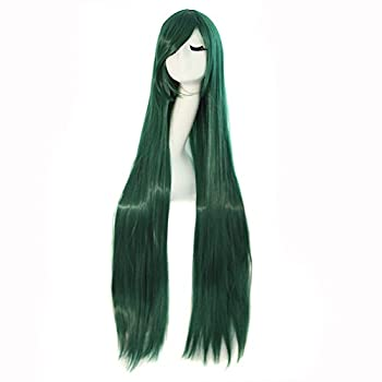 Best long green cosplay wig Reviews