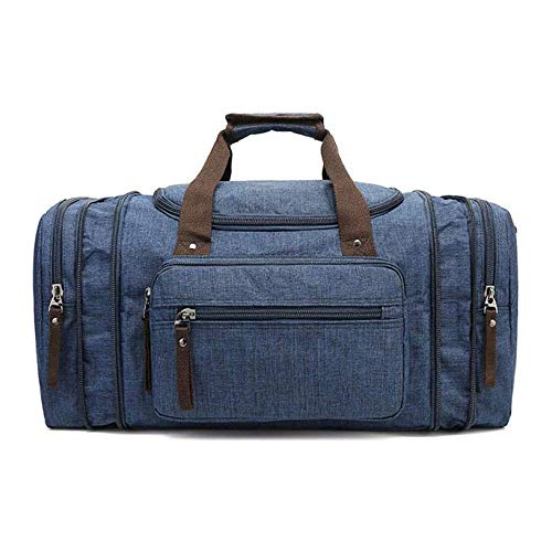 JJSFJH Gym Bag, Sports Duffle Bag with Shoes Compartment & Wet Pocket for Men Women (Color : Blue)