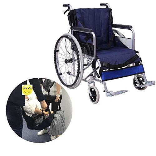SHKY Treppenlift für Patientenlifter - Rollstuhlgurt Ganzkörper-medizinisches Heben, Sling-Schiebe-Transferscheibe Verwendung für Transferposition für Senioren