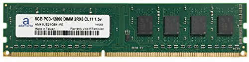 Adamanta 8GB (1x8GB) Memory Upgrade for Gigabyte G1.Sniper Z97 DDR3 1600 PC3-12800 DIMM 2Rx8 CL11 1.5v RAM