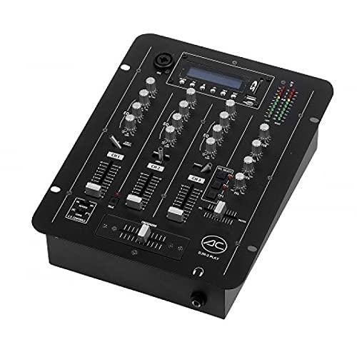 Acoustic Control DJM-3 Play Mezclador de 7 entradas con 3 Canales...