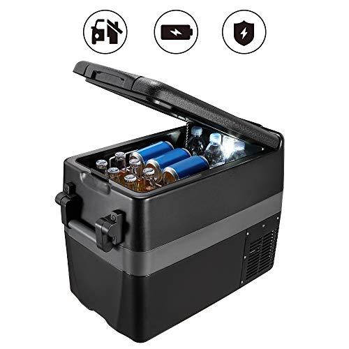 JoyTutus RV Car Freezer 42 Quart(40L) Portable Refrigerator RV Fridge(-4℉~50℉) Car Refrigerator Electric Compressor Car Cooler for Truck, Boating, Camping, Road Travel and Home Use-12/24V DC