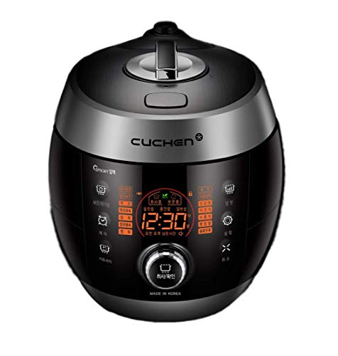 Cuchen Pressure Rice Cooker 6cup CJS-FD0605RVUS (Silver)