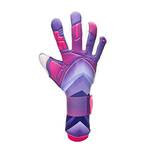 SP Fútbol Earhart 3 Pro, Guante de Portero, Purple-Pink, Talla 7
