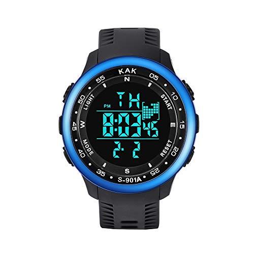 Herren Uhren Herren Armbanduhr Quarz saphirglas sportuhr mit brustgurt stoppuhr sportunterricht Leder smartuhr wasserdicht digital Uhren telefonieren h Uhren Herren