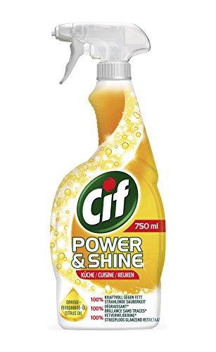 Cif Power und Shine Reiniger Spray Küche, 6er Pack (6 x 750 ml)