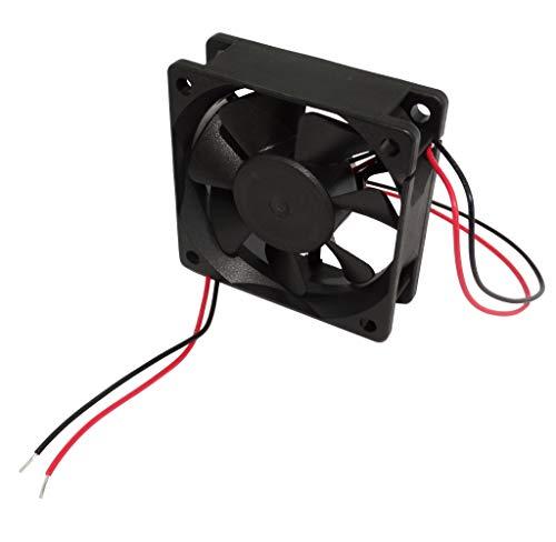 AERZETIX: Ventilador para PC Ordenador de sobremesa 12V 60x60x20mm 39,08m3/h 34,5dBA 4500rpm 26AWG