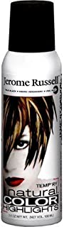 Jerome Russell Temp ry Natural Color Highlights True Black