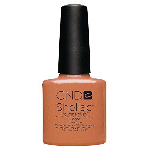 CND Shellac Cocoa, 1er Pack (1 x 7 ml)