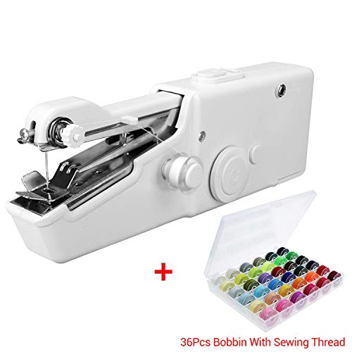 Great Price! Household 1Set Portable Handheld Sewing Machine Quick Stitch Sew Needlework Cordless Cl...
