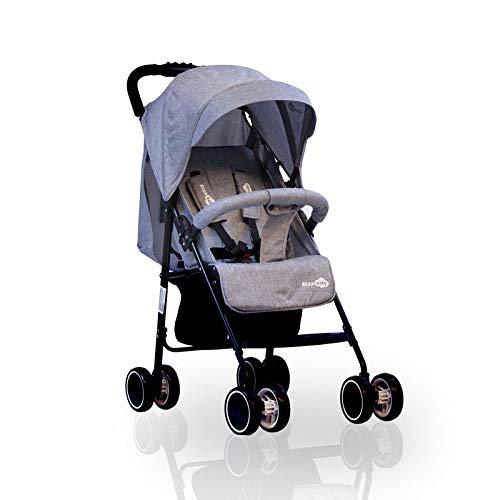 'Milano' silla de paseo ligera - Gris - Silla de paseo Milano Ataababy ligera, cómoda y con todas las prestaciones