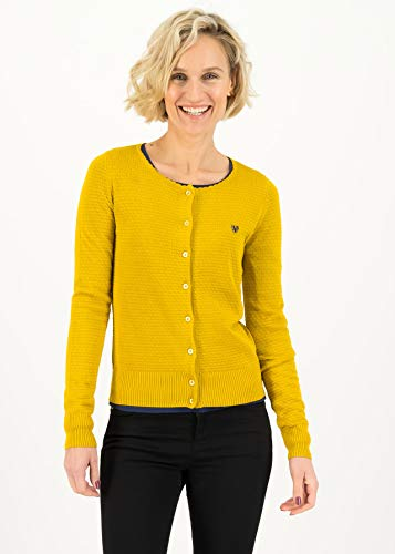 Blutsgeschwister Damen Save The Brave Jacke, Suited in Yellow, XS