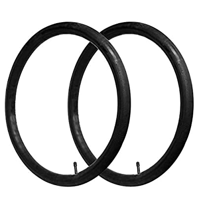 """26"""" x 1.75/1.95/2.125 Bike Replacement Inner Tubes with Schrader Valve 32mm for Road/Mountain Bikes with Tire Size of 26 Inch and 1.75-2.125 Wide (2 Inner Tubes)"""
