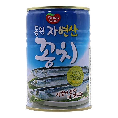 Dongwon, Canned Mackerel Pike, 14.11 Ounce