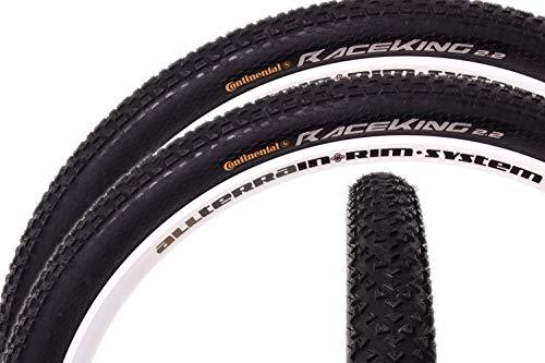 "2x 29\"" Zoll Continental Race King MTB Mountainbike Fahrrad Reifen 29 x 2.2 55-622"
