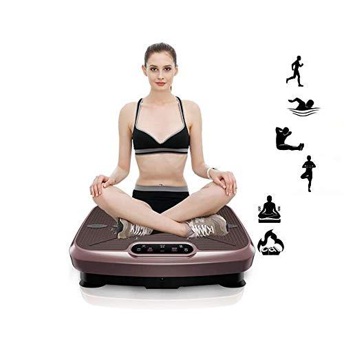 AYCPG Gewichtsverlust Körperfett verlieren Toning Vibrationsplatte Vibrationsplatte Power Board dünne Arme dünn Taillen-dünne Magen Vibrationstrainer Ganzkörper schütteln Swinging Platform lucar