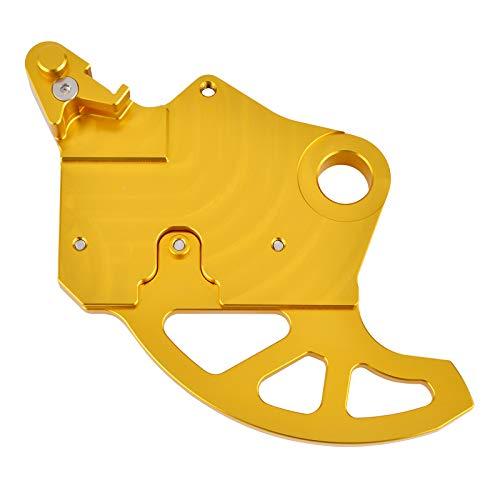 KIILING Cubierta de Guardia de Disco de Freno Trasero para Suzuki RMZ250 2010-2018 RMZ450 2008-2017 RM-Z RMZ 250 450 Protector de Rotor de Disco de Freno de Motocicleta (Color : Gold)