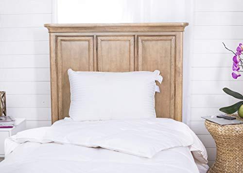 Continental Bedding Superior 100% Down Pillows, 700 Fill Power 25 oz....