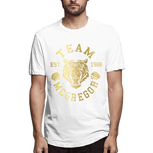Camiseta básica Hombre Team Mcgregor Tiger Conor Mcgregor Design White