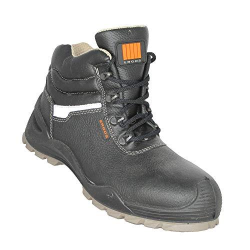 Ergos Oregon S3 SRC Sicherheitsschuhe Trekkingschuhe hoch Schwarz B-Ware, Größe:38 EU