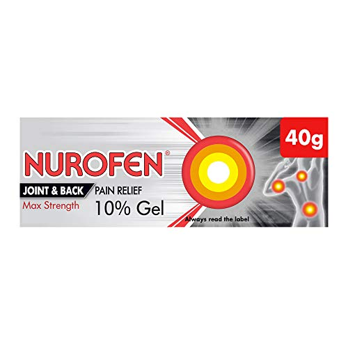 Paracetamol alternative - topical Nurofen Gel (ibuprofen)