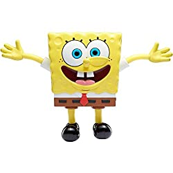 Interactive toys with stretchable limbs. Stretch SpongeBob's arms or legs at the same time to hear him laugh and shout. The more you pull, the more you unlock new unique sounds and phrases Great Interactive toy to play with friends and family.