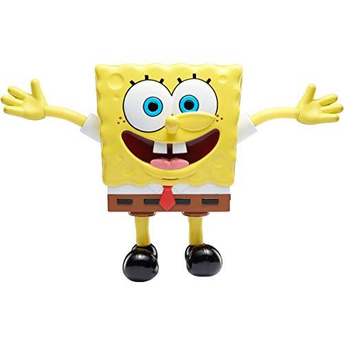 SpongeBob SquarePants | Estiradores | Estiramiento Bob Esponja con Sonidos | Juguete Interactivo de 7 Pulgadas