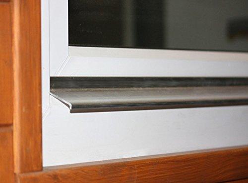 Wasserschenkel WS35 100 cm ALD-A135 Alu ungebohrt Wassernase Wetterschenkel