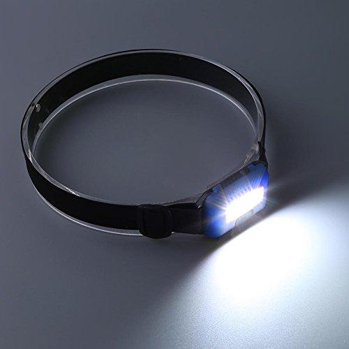 Mini LED Headlights 3 Mode Waterproof Headlights Flashlight Outdoor Camping Night Fishing Portable Headlights