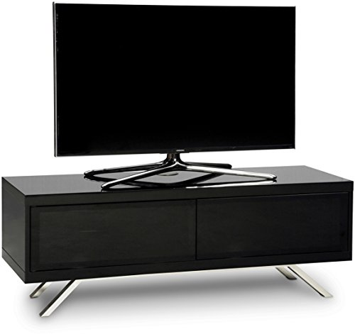MDA Designs Tucana 1200 Ibrido Nero Beam Thru Remote-Friendly Nero Lucido Mobile TV a Schermo Piatto da a 66 - 152,4 cm