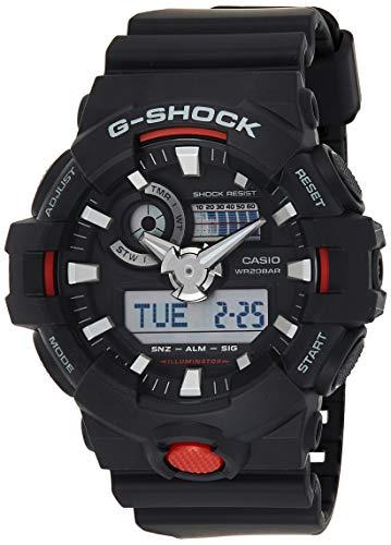 Casio GA700-1A Men's G-Shock Ana-Digi Dial Black Strap Dive Watch