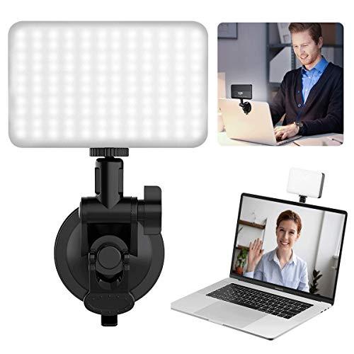 Video Conference Lighting Kit, VIJIM MacBook Videokonferenzbeleuchtung für Remote Arbeiten, Laptop-Beleuchtung für Videokonferenzen, Zoom Anrufe, Selbstübertragung, Live Streaming