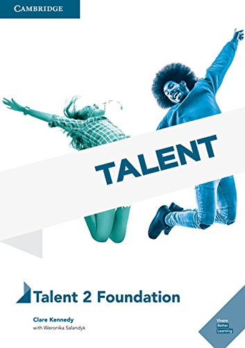Talent Level 2 Foundation Student Book with Online Audio [Lingua inglese]: Vol. 2