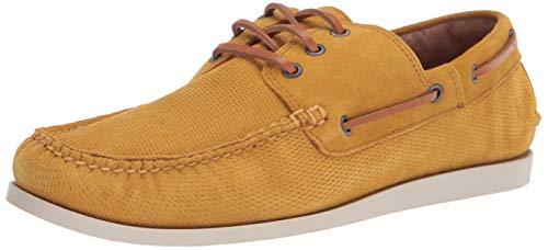 FRYE Briggs Chaussures de Bateau pour Homme Marron - Jaune - Miel, 41 EU