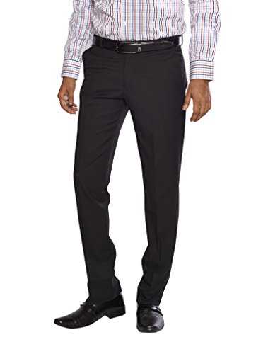FLAGS Men's Formal Trouser(trouser 005_Black_32)