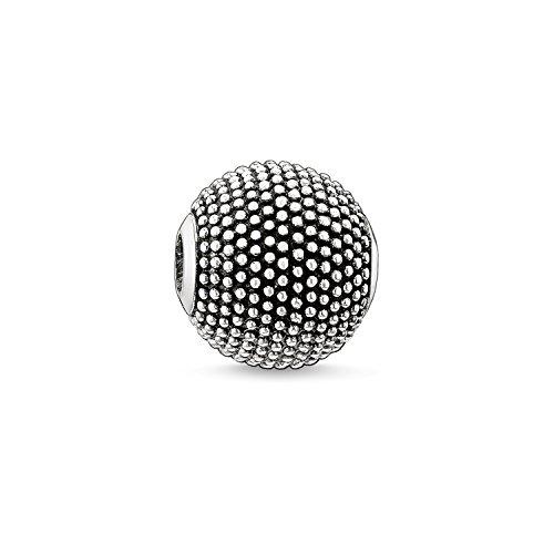 Thomas Sabo Damen Herren-Bead Nepal Karma Beads 925 Sterling Silber geschwärzt K0067-001-12