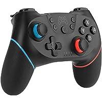 Diswoe Mando para Nintendo Switch, Wireless Bluetooth Pro Controller Controlador Inalámbrico Apoya Vibración, Turbo y Giroscopio, Controlador para Nintendo Switch/Nintendo Switch Lite
