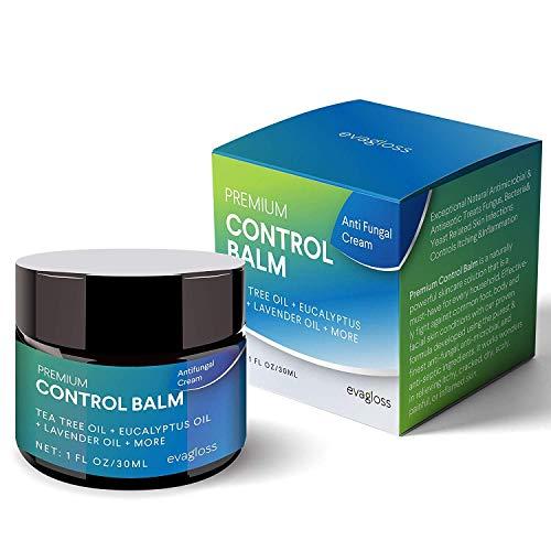 Evagloss Antifungal Cream Repair Anti-Itch Balm for Face & Body, Athletes Foot,...