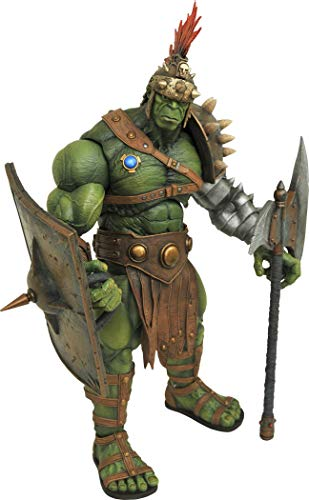 DIAMOND SELECT TOYS Marvel Select: Planet Hulk Action Figure, Multicolor
