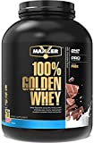 Maxler 100% Golden Whey Protein - 25g of Premium Whey Protein Powder per Serving - Pre Post Intra Workout - Fast-Absorbing Whey Hydrolysate, Isolate & Concentrate Blend - Milk Chocolate Protein 5 lbs