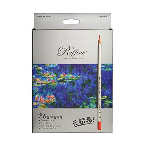Berrd 24/36/48/72/100 Juego de Colores del Artista Lápices de Colores Lapis de Cor Lápices de Colores de Dibujo Profesionales para Dibujar - 7100-36 CB