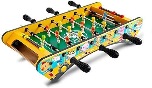 Multi Game Table, Combo Game Table w/Soccer, Billiard, Slide Hockey, Wood Foosball Table, Perfect for Game Rooms, Foosball Table Cover (Size : S) ANGANG ( Size : S )