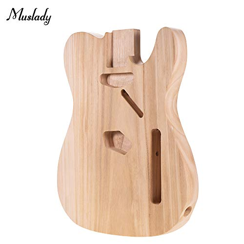 Kalaok Muslady TL-T02 E-Gitarren Korpus Platane Holz Blank Gitarrenrohr für TELE Style E-Gitarren DIY Teile