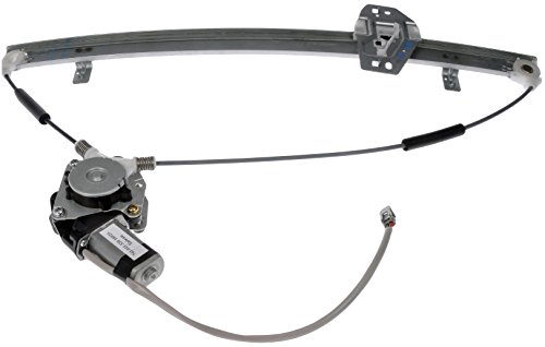 Dorman 741-011 Front Passenger Side Power Window Motor and Regulator Assembly for Select Honda Models